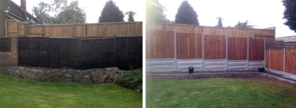 Uneven Ground Nelsons Fencing And Landscaping